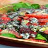 salade fraîche|chia salade